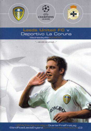 Champions League - QF 2001