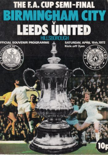 FA Cup Semi Final - 1972