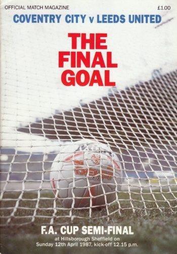 FA Cup Semi Final - 1987