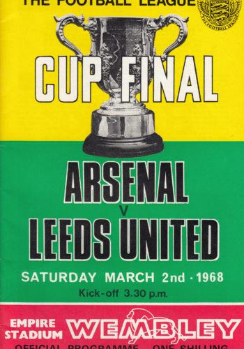 League Cup FINAL 1968