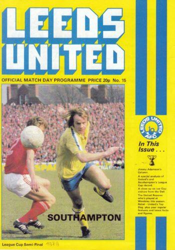 League Cup Semi Final 1979